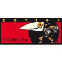 Zotter Birds Eye Chilli 70% 70g
